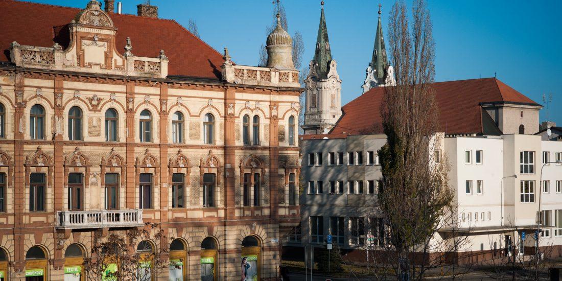 Dunajské nábrežie Komárno
